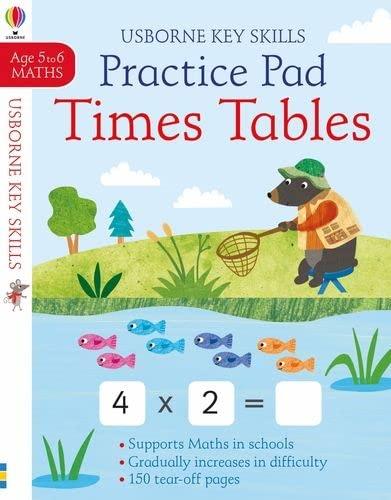 9781474953337: Times Tables Practice Pad 5-6 (Key Skills): 1