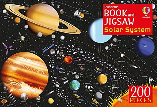 9781474960298: The Solar System (Usborne Book and Jigsaws)