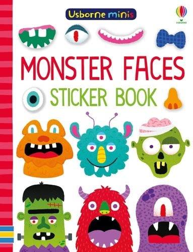 9781474960311: Monster Faces Sticker Book (Usborne Minis)