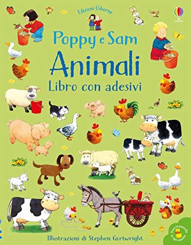 9781474961196: Animali. Poppy e Sam. Con adesivi. Ediz. a colori
