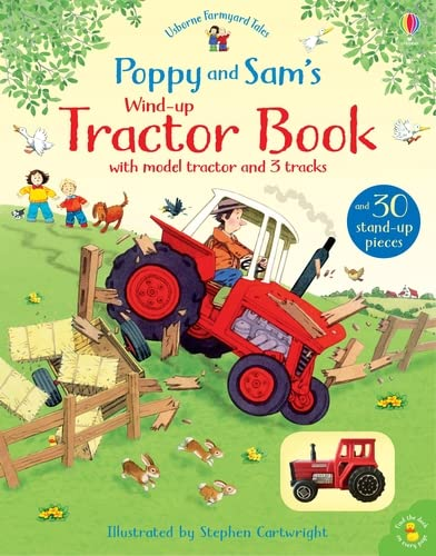 9781474962582: Poppy and Sam's Wind-Up Tractor Book (Farmyard Tales Poppy and Sam)