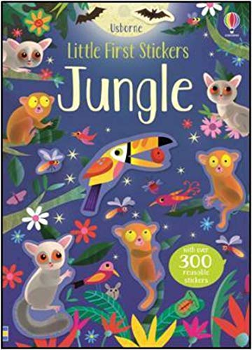 9781474964425: Little First Stickers Jungle