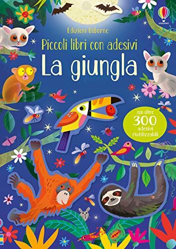 9781474966078: La giungla. Piccoli libri con adesivi. Ediz. a colori