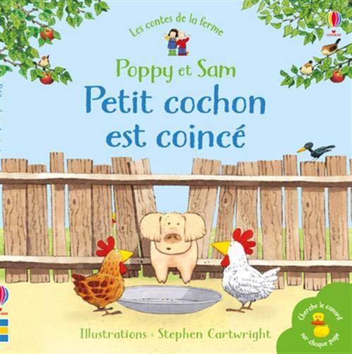 9781474969864: Petit cochon est coincé - Poppy et Sam - Les contes de la ferme