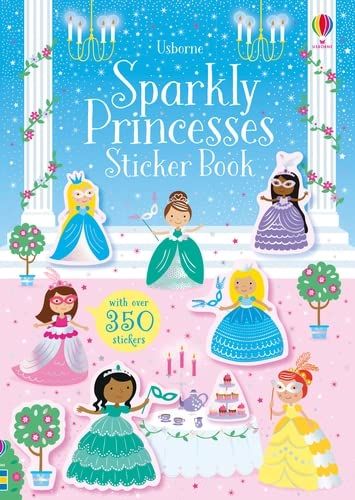 9781474971331: Sparkly Princesses Sticker Book (Sparkly Sticker Books)
