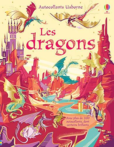 9781474975421: Les dragons - Autocollants Usborne