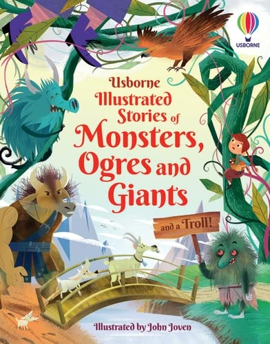 Lara Baer  Sam    Prentice  Andy    Firth  Rachel    Bryan, Illustrated Stories of Monsters, Ogres and Giants (and a Troll)