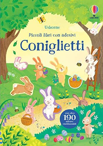 9781474994248: Coniglietti. Piccoli libri con adesivi. Ediz. a colori