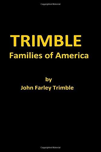 9781475013061: TRIMBLE Families of America