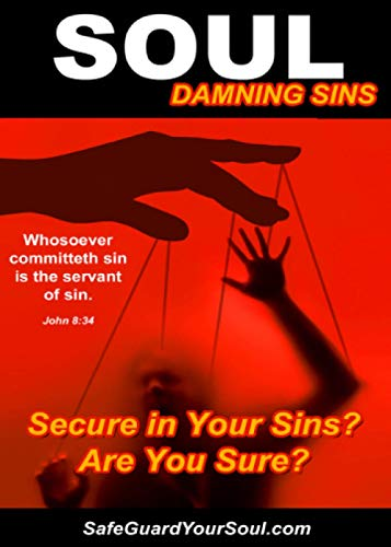 9781475043983: Soul Damning Sins: Secure in Your Sins? Are You Sure?