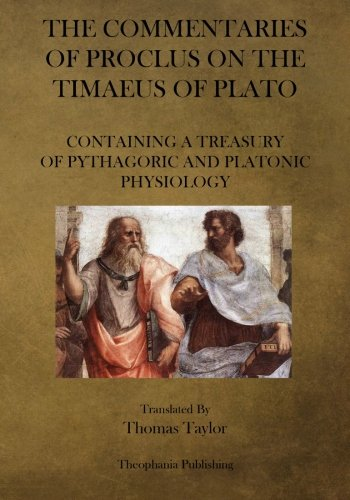 9781475067231: The Commentaries of Proclus on the Timaeus of Plato