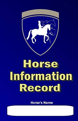 9781475069396: Horse Information Record