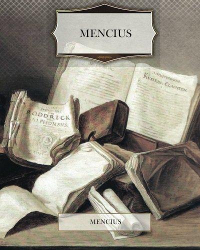 9781475091816: Mencius