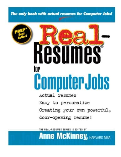 9781475093551: Real-Resumes for Computer Jobs