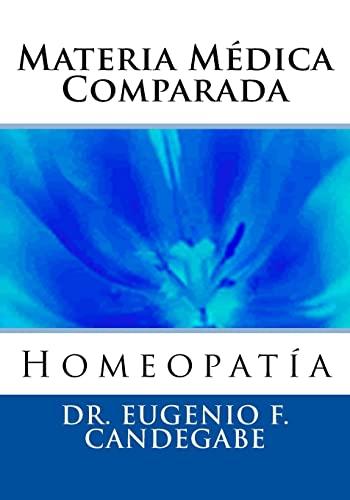 9781475142822: Materia Médica Comparada (Spanish Edition)