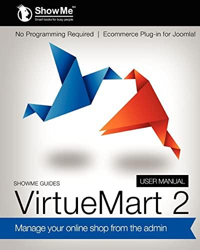 9781475144635: ShowMe Guides VirtueMart 2 User Manual