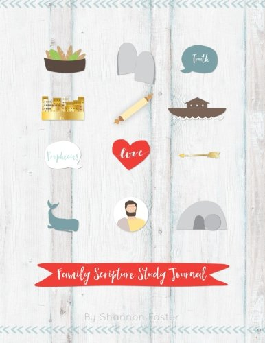 9781475156638: Family Scripture Study Journal: Red and Yellow Cover