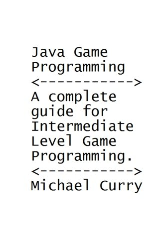 9781475169171: Java Game Programming Book: A complete guide for Intermediate Level Programming