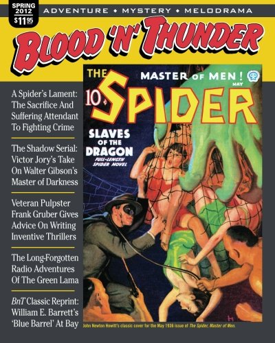 9781475218978: Blood 'n' Thunder: Spring 2012 (Volume 33)