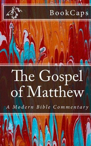 9781475258806: The Gospel of Matthew: A Modern Bible Commentary