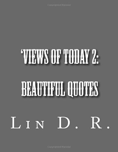 9781475274493: Views of Today 2: Beautiful Quotes (Volume 2)