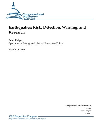 9781475277449: Earthquakes: Risk, Detection, Warning, and Research