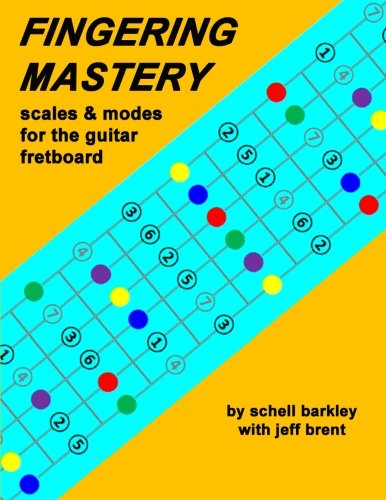 9781475293036: Fingering Mastery - scales & modes for the guitar fretboard