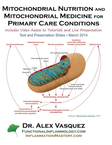 9781475297034: Mitochondrial Nutrition and Mitochondrial Medicine for Primary Care Conditions: Text and Presentation Slides 2014 March