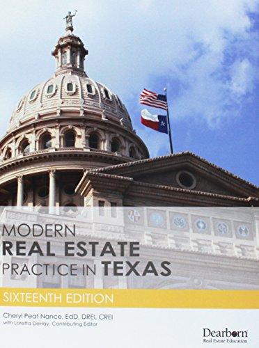 9781475421835: Modern Real Estate Practice in Texas
