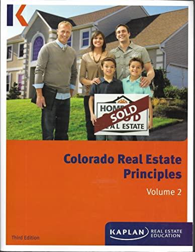 9781475422481: Colorado Real Estate Principles Volume 2