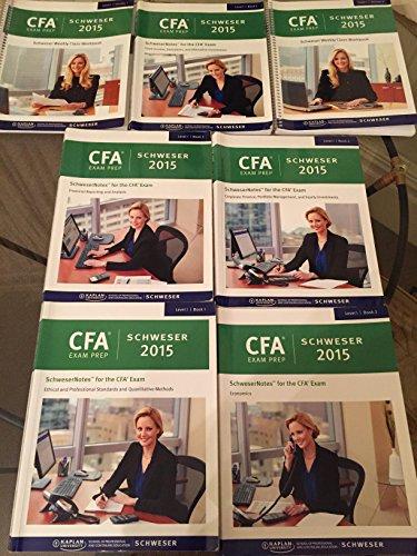 9781475427639: Kaplan Schweser 2015 CFA Level 1 Notes