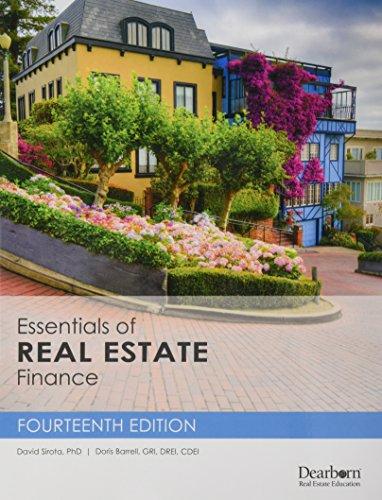 9781475428391: Essentials of Real Estate Finance
