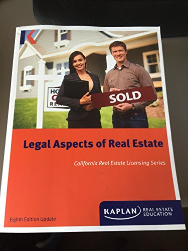 Legal Aspects of Real Estate, California Real: William H. Pivar