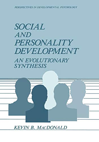9781475702941: Social and Personality Development: An Evolutionary Synthesis (Perspectives in Developmental Psychology)