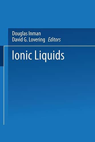 9781475709223: Ionic Liquids