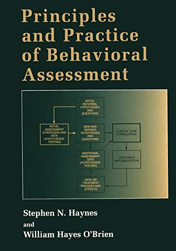 9781475709711: Principles and Practice of Behavioral Assessment (Applied Clinical Psychology)