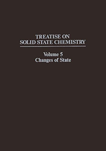 Changes of State (Treatise on Solid State Chemistry): N. Hannay