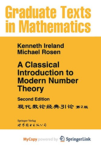 9781475721041: A Classical Introduction to Modern Number Theory