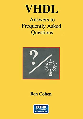 9781475726268: VHDL Answers to Frequently Asked Questions