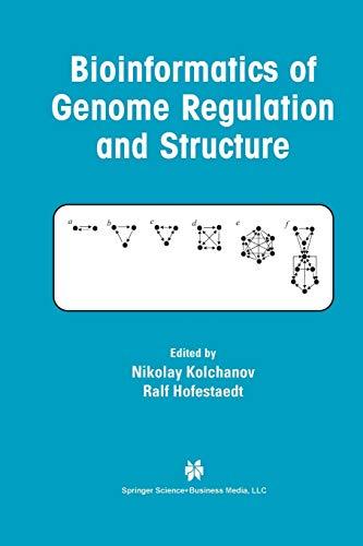 9781475746136: Bioinformatics of Genome Regulation and Structure
