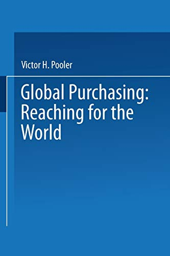 Global Purchasing: Reaching for the World: Victor Pooler