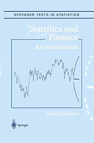 9781475765847: Statistics and Finance: An Introduction (Springer Texts in Statistics)