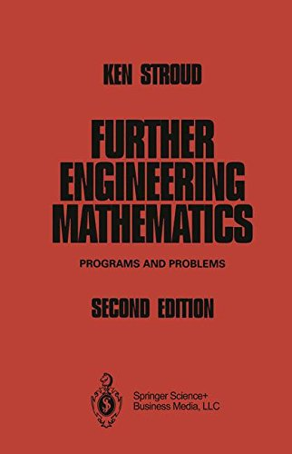 9781475766189: Further Engineering Mathematics: Programs and Problems