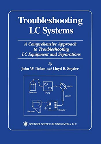 9781475768794: Troubleshooting LC Systems: A Comprehensive Approach to Troubleshooting LC Equipment and Separations
