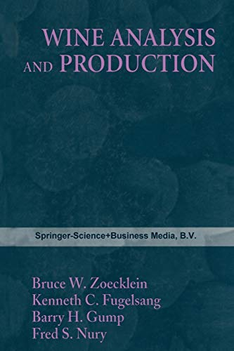 Wine Analysis and Production: ZOECKLEIN