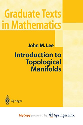9781475774313: Introduction to Topological Manifolds