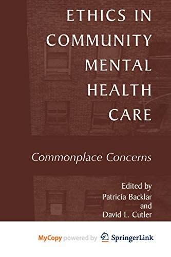9781475775907: Ethics in Community Mental Health Care: Commonplace Concerns