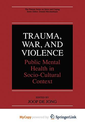 9781475776102: Trauma, War, and Violence: Public Mental Health in Socio-Cultural Context