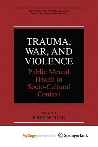 9781475776102: Trauma, War, and Violence: Public Mental Health in Socio-Cultural Context