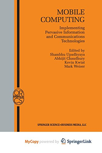 9781475776690: Mobile Computing: Implementing Pervasive Information and Communications Technologies